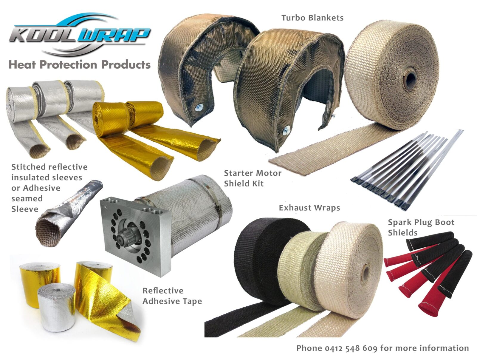 Kool Wrap Heat Protection Product Range