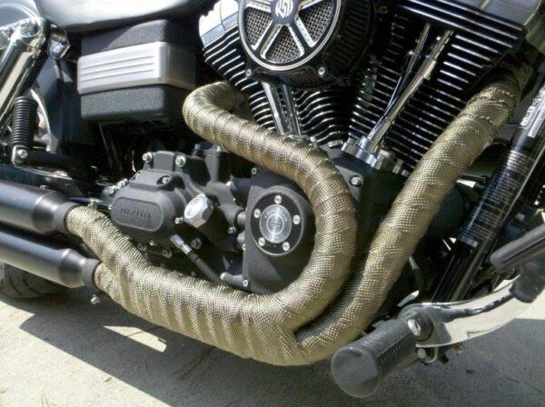 Kool Wrap Titanium Exhaust Wrap Harley