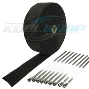 Kool Wrap Black Exhaust wrap wm