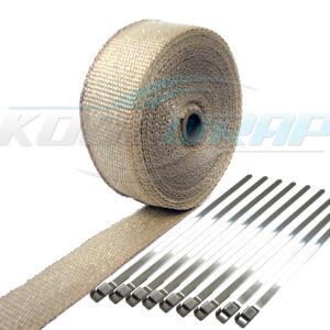 Kool Wrap Natural Exhaust wrap wm