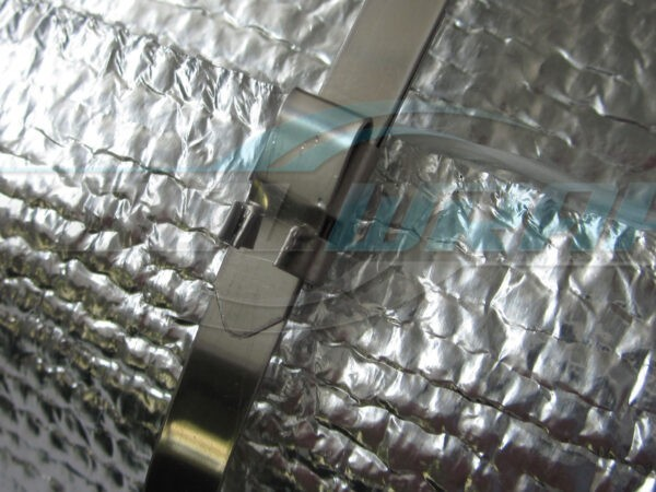 Kool Wrap Stainless Ties fitted wm