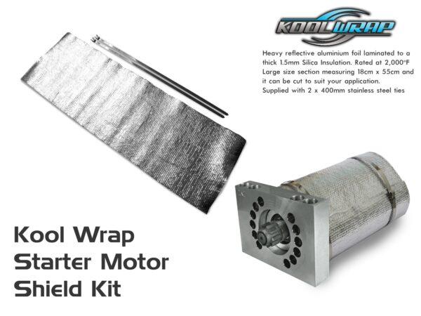 Kool Wrap starter motor shield kit v2