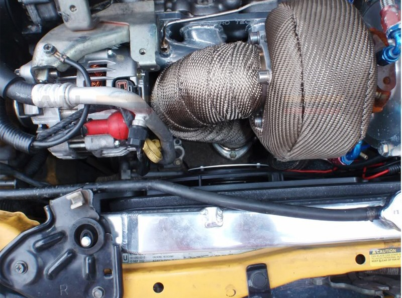 Kool Wrap T4 Titanium Turbo Blanket