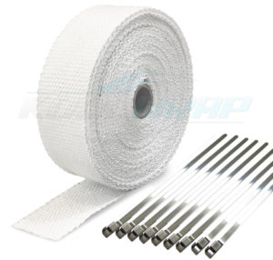 Exhaust or Header Wrap – Kool Wrap Heat Protection
