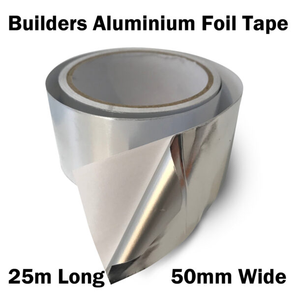 Aluminium Foil Tape 25m x 50mm x 30 3