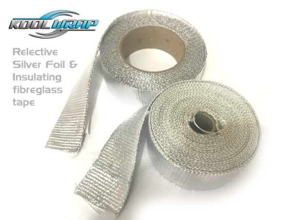 Kool Wrap Adhesive aluminium insulating tape v2