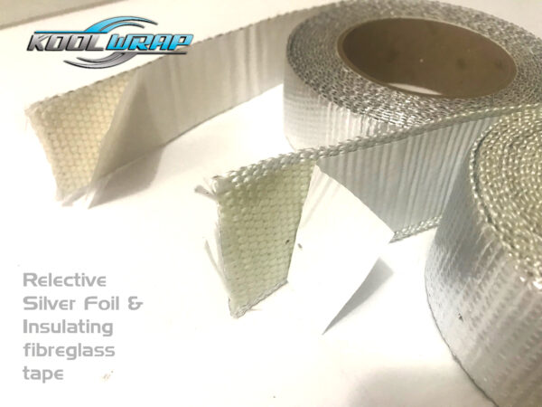 Kool Wrap Adhesive aluminium insulating tape v3