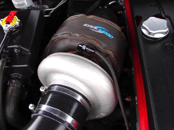 Kool Wrap Black Turbo Blanket XR6