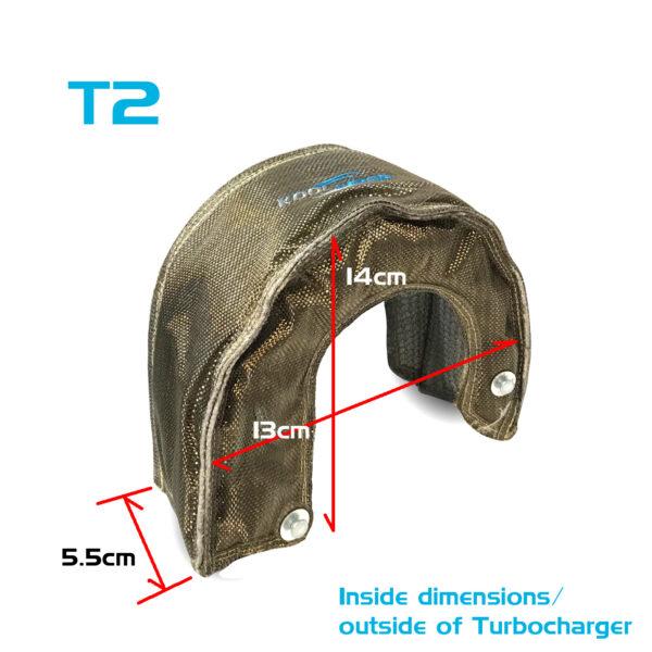 Kool Wrap Turbo dimensions Titanium T2