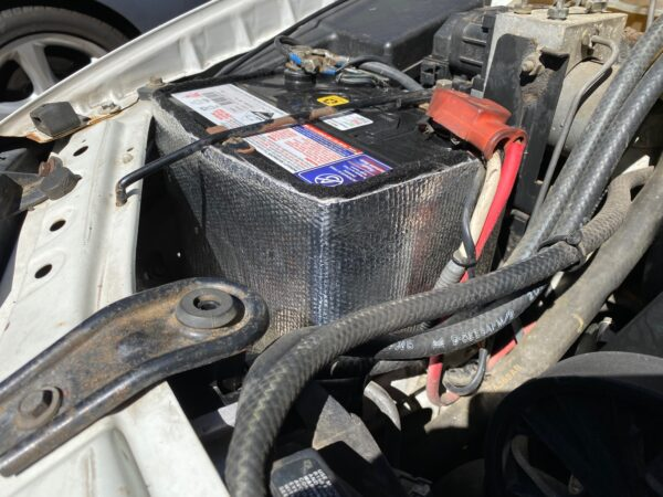 Car battery Insulation Kit Fitted to AU Falcon