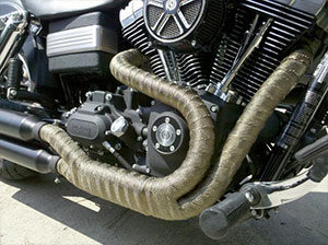 Exhaust or Header Wrap