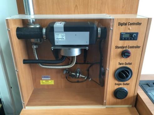 Typical Diesel Heater Installation