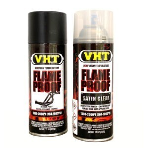 Fire flame proof exhaust paint