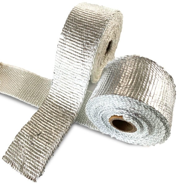 New Kool Wrap Aluminium Foil coated exhaust wrap
