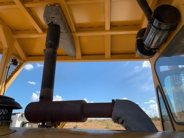 CAT Bulldozer Exhaust Insulation